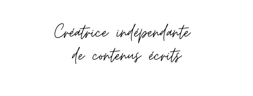 Marie Basquin - Créatrice Indépendante de contenus écrits - Rédactrice - freelance - Allezviensjtemmene.com
